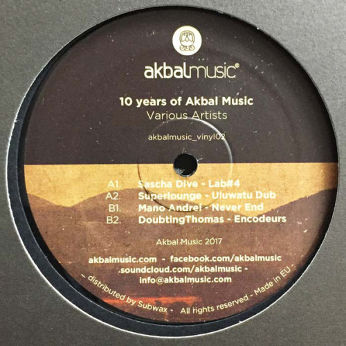 VA - 10 Years Of Akbal Music [AKBALMUSIC_VINYL02]