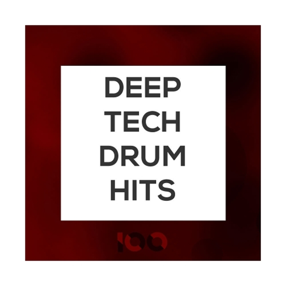 100 Deep Tech Drum Hits WAV