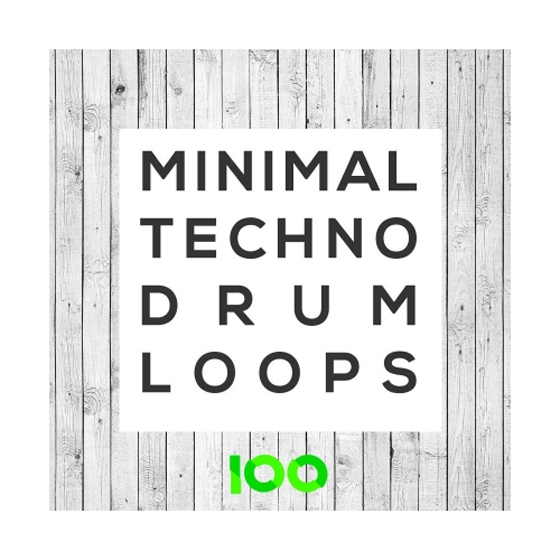 100 Minimal Techno Drum Loops WAV-AUDIOSTRiKE