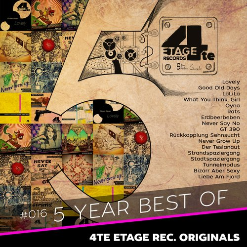 VA - 5 Year Best Of – 4te Etage Rec. Originals [4TEETAGE016]