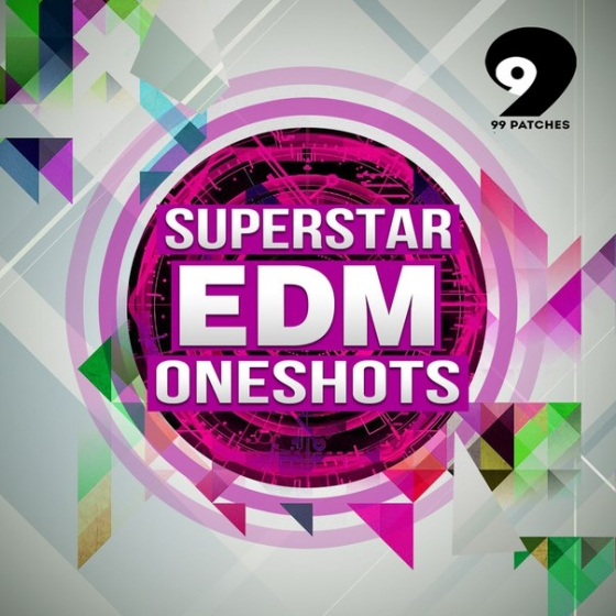 99 Patches Superstar EDM Oneshots WAV