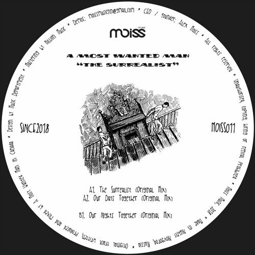 A Most Wanted Man - The Surrealist [MOISS011]