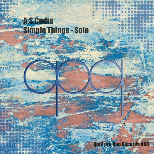 A.S.Cudia - Simple Things - Sole [100932 93]