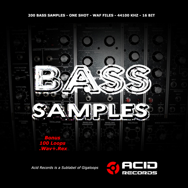 ACID Records Bass Samples MULTiFORMAT SCD-SONiTUS