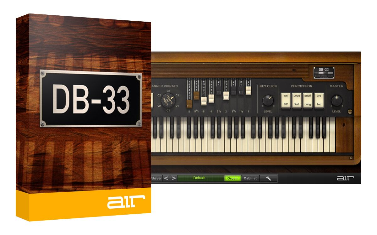 AIR Music Tech DB-33 v1.2.7 x86/x64 VSTi/VST (FiXED Custom installer)