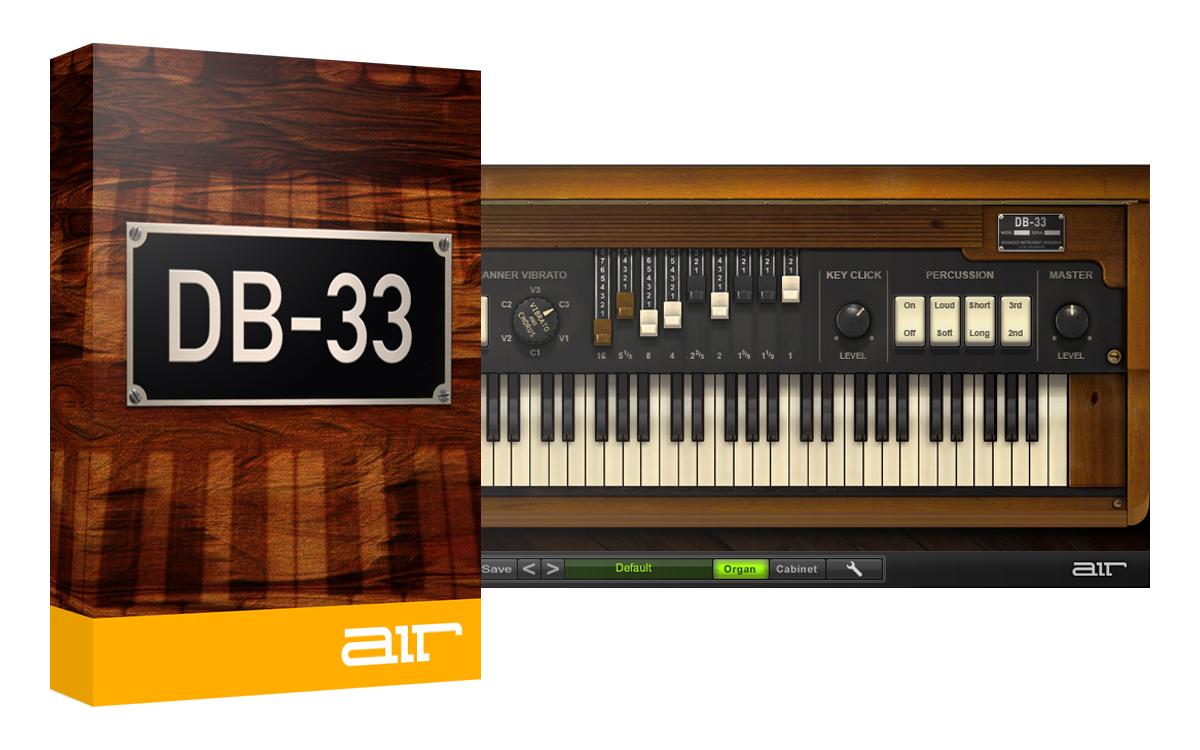 AIR Music Tech DB-33 v1.2.7 WiN X86 X64 VST (Custom installer)