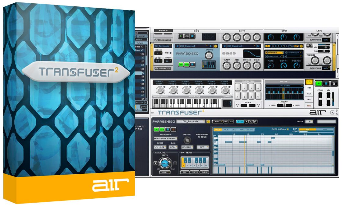 AIR Music Tech Transfuser v2.0.7 WIN-AudioUTOPiA
