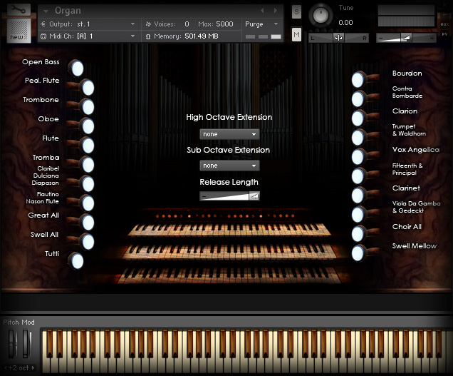 ARIA Sounds Pipe Organ (KONTAKT)