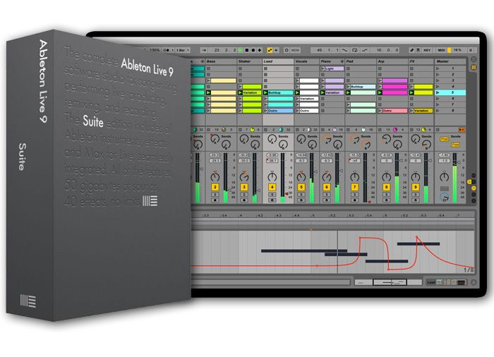 Ableton Live 9 Suite v9.6 WiN/OSX [FINAL]