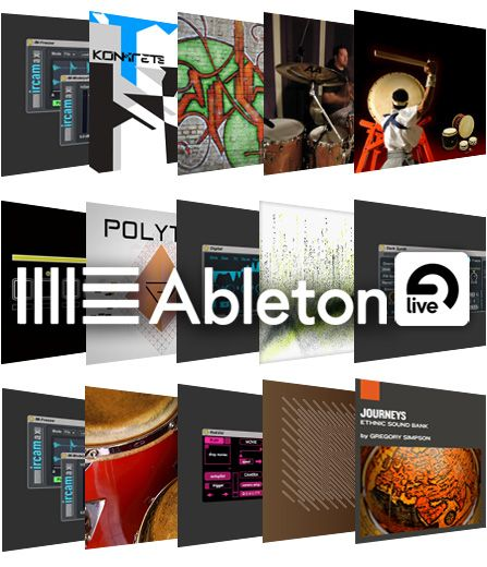 Ableton Live PACK 19.02.2016 by DVT