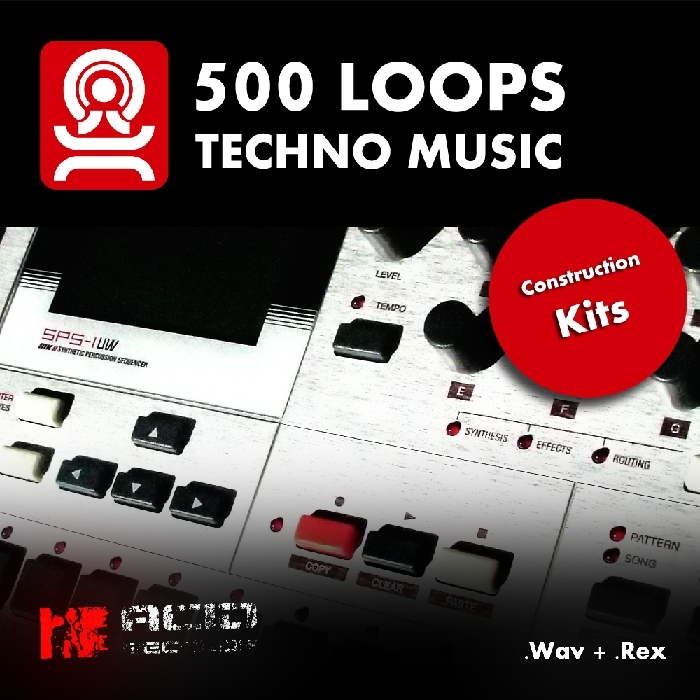 Acid records 500 techno loops acid wav rex discover for Acid techno music