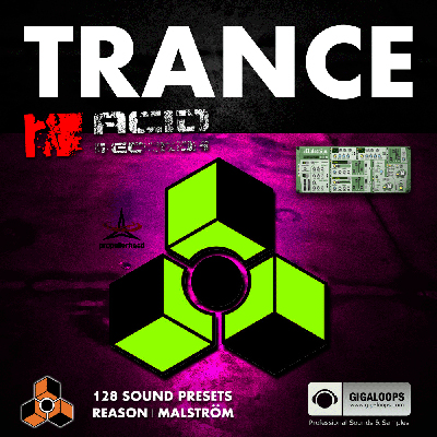Acid Records Trance Sound Bank for REASON MALSTROM