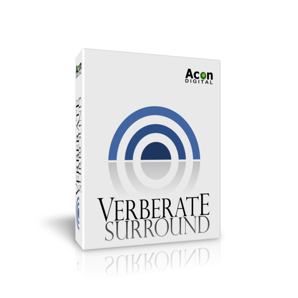 Acon Digital Verberate Surround v1.6.2 WIN OSX