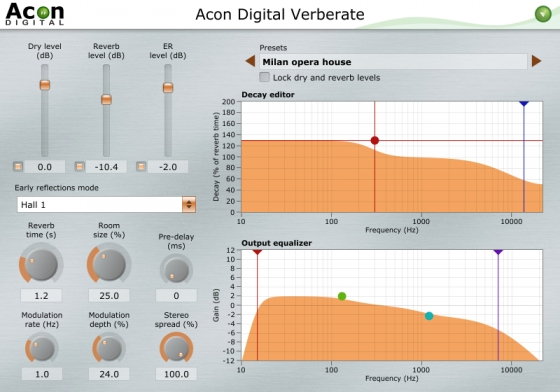 Acon Digital Verberate v1.6.2 WIN OSX