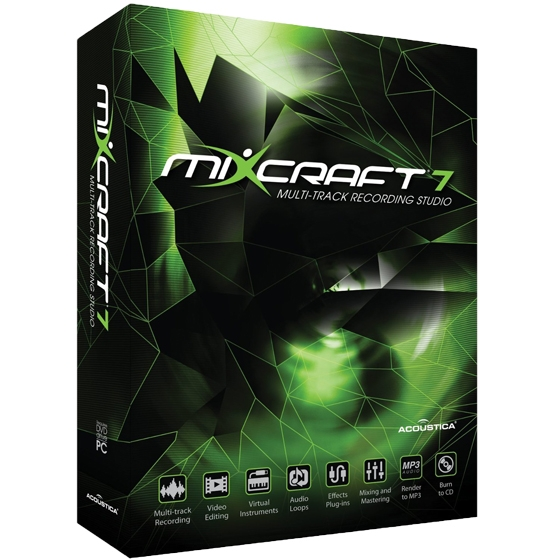 Acoustica Mixcraft 7.5 Build 292 Incl.Keygen