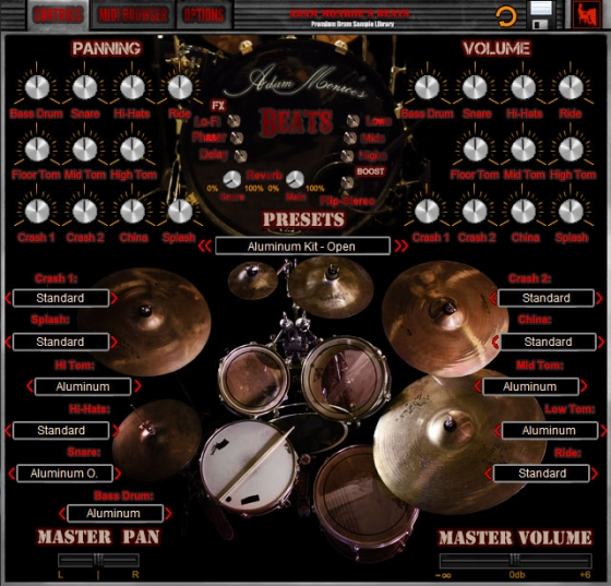 Adam Monroe Music Beats Drum V.2.3 KONTAKT VST