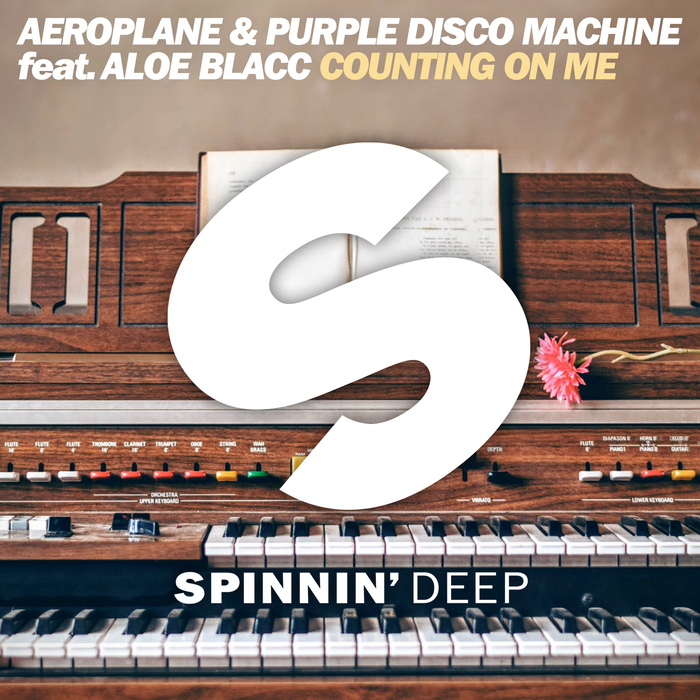 Aeroplane, Purple Disco Machine, Aloe Blacc - Counting On Me [SPDEEP 377AP]