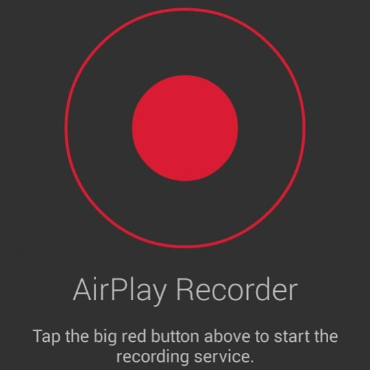 AirPlay Recorder 1.2 Mac OS X