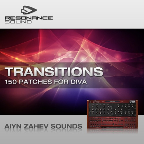 Aiyn Zahev Transitions Vol 1 for u-he Diva