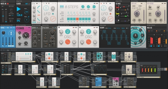 Amazing Machines AM102 Programmable Wavetable Oscillator v1.0 REAKTOR BLOCKS