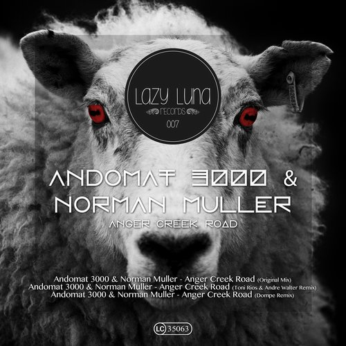 Andomat 3000, Norman Muller – Anger Creek Road [LAZY007]