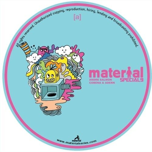 Andre Salmon, Cris Cobena, Mathew Ardern - One Time [MATERIALSPECIAL9]