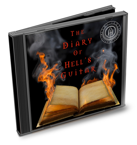 Andy James Academy Diary of Hells Guitar Pack Option 2 (2015)
