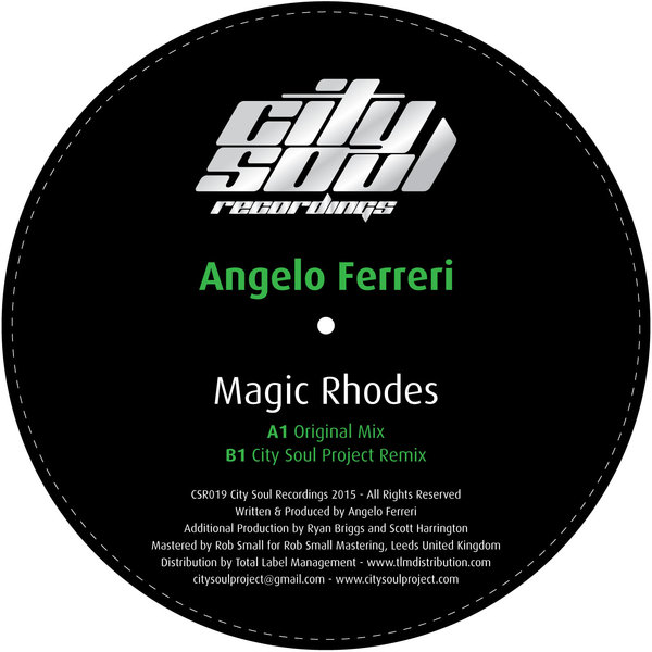 Angelo Ferreri - Magic Rhodes