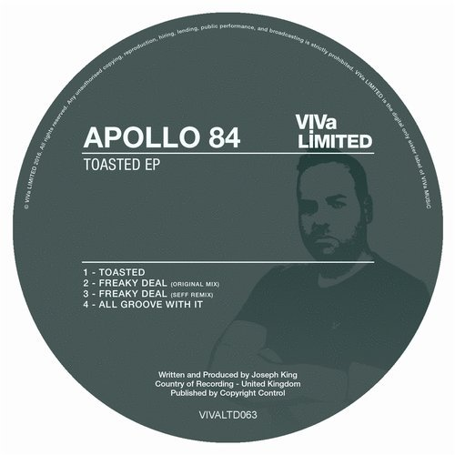 Apollo 84 – Toasted EP [VIVALTD063]