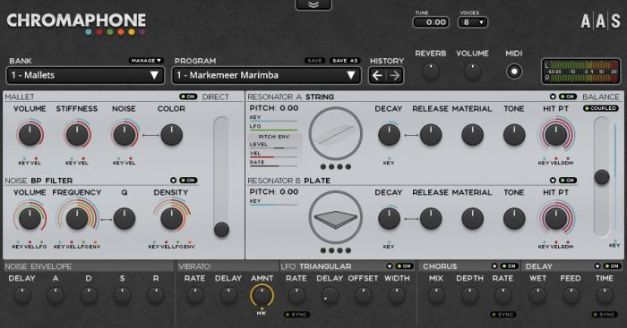Applied Acoustics Chromaphone v1.0.8 WIN OSX Incl.Keygen