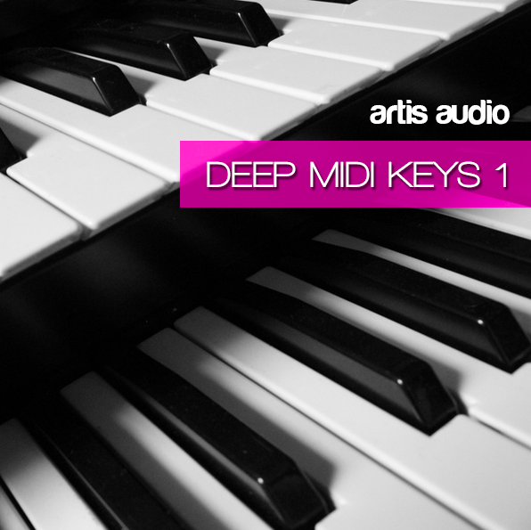 Artis Audio Deep House MIDI Keys Vol 1 MiDi