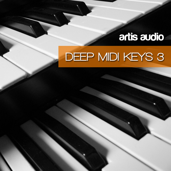 Artis Audio Deep House MIDI Keys Vol 3 MiDi