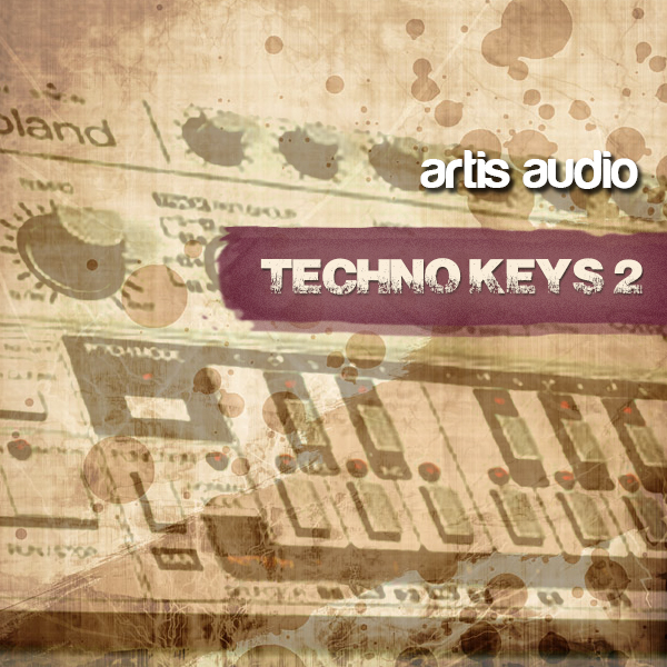 Artis Audio Supa Techno MiDi Keys Vol.2 MiDi-KRock