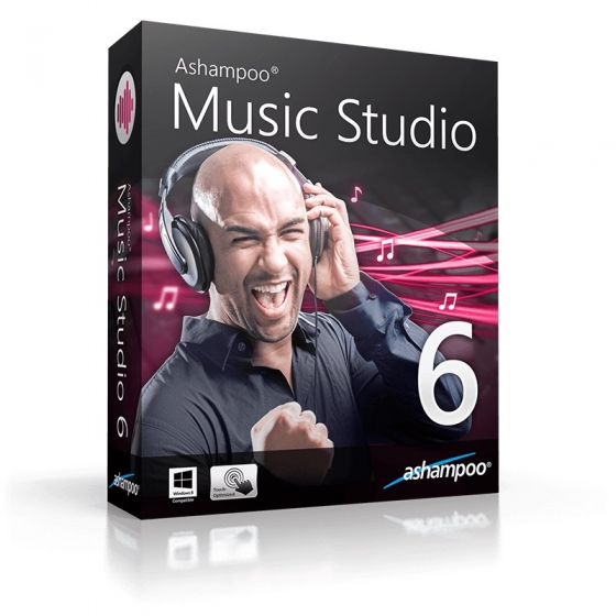 Ashampoo Music Studio 6 v6.0.2.27-AMPED