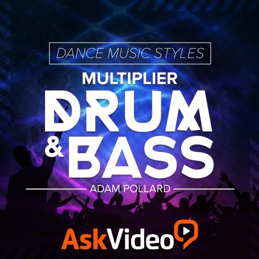 Ask Video Dance Music Styles 104 Drum and Bass TUTORiAL