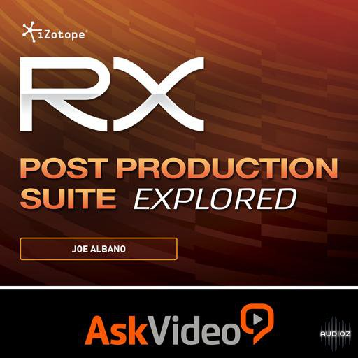 Ask Video iZotope RX Post Production Suite Explored TUTORiAL-SYNTHiC4TE