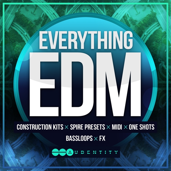 Audentity Everything EDM WAV MiDi SPiRE-AUDIOSTRiKE