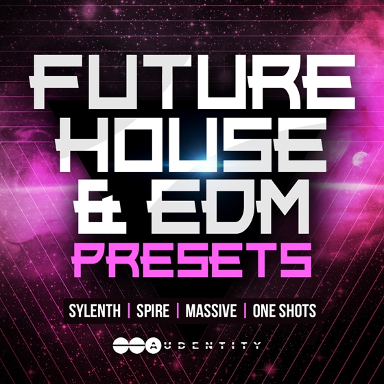Audentity Future House and EDM Presets WAV FXB NMSV SBF