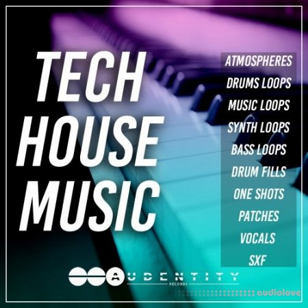 Audentity Records Tech House Music WAV MiDi Synth Presets