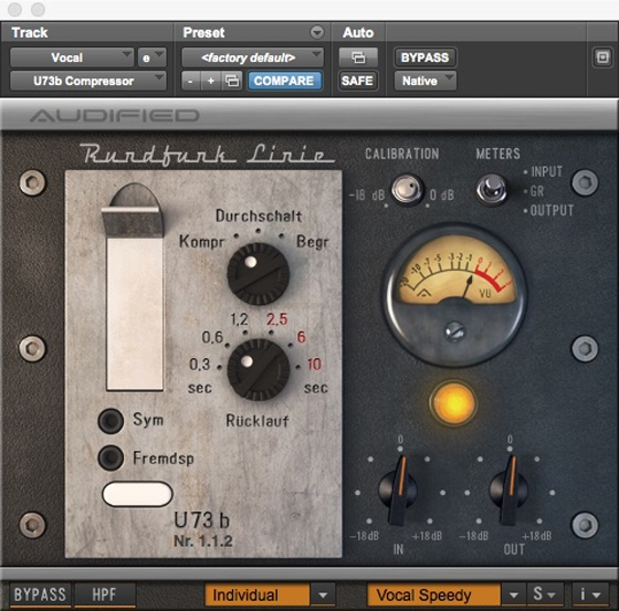 Audifed U73b Compressor v1.1.2 WIN VST-AudioUTOPiA