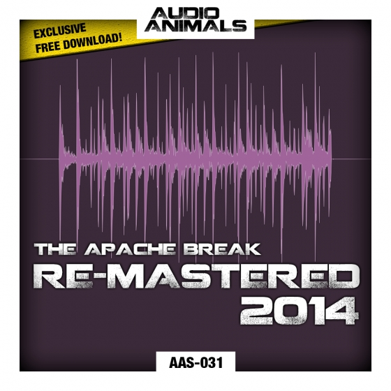 Audio Animals Apache Break Re-Mastered WAV