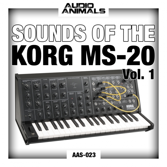 Audio Animals Sounds Of The Korg MS20 WAV