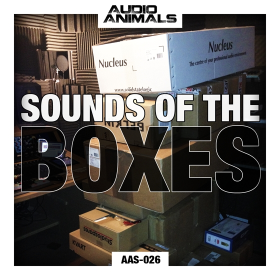 Audio Animals Sounds Of the Boxes WAV