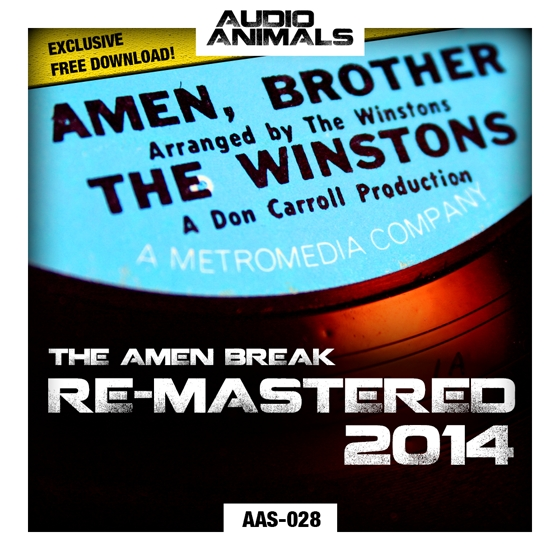 Audio Animals The Amen Break Re-Mastered 2014 WAV