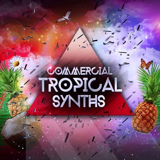 Audio Masters Commercial Tropical Synths WAV AiFF APPLE LOOPS