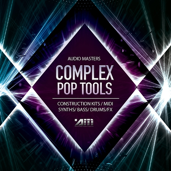 Audio Masters Complex Pop Tools WAV AiFF APPLE LOOPS MiD