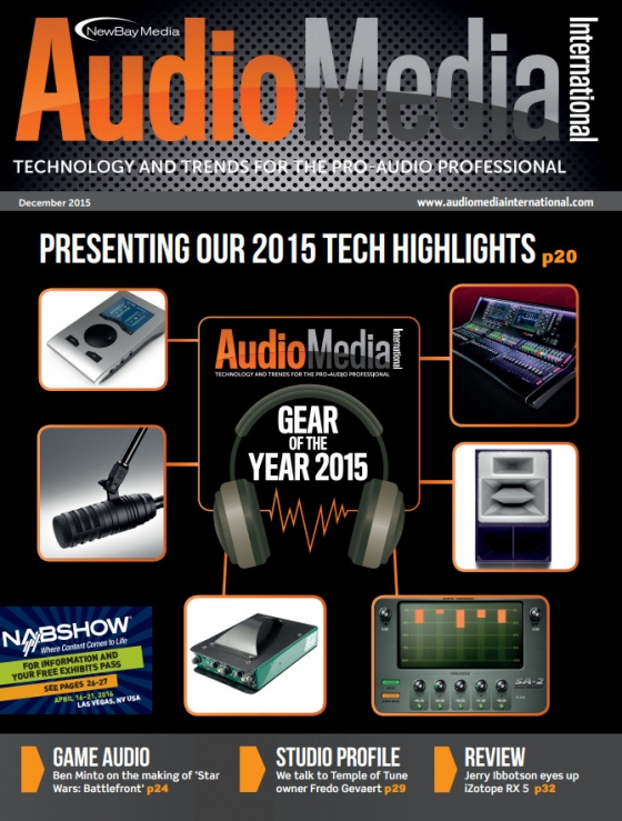 Audio Media International December 2015