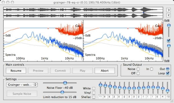 Audio Restoration DeNoise / DeNoiseLF 2.7.4 WiN/MAC