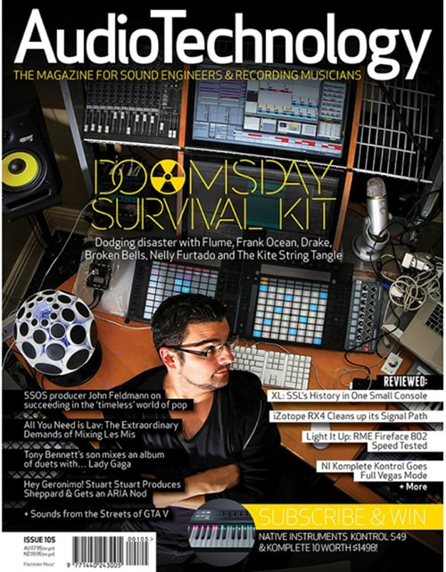 AudioTechnology App Issue 18, 2015