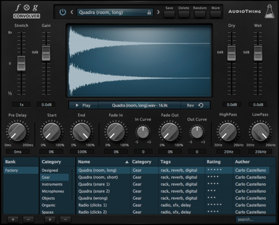 AudioThing Fog Convolver v1.2.2 Update MacOSX Incl Patched and Keygen-R2R